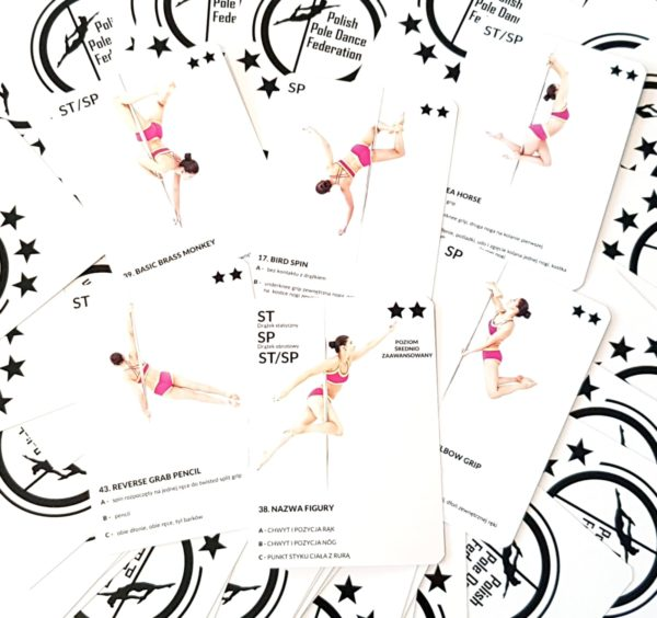 POLE COMBO CARDS - INTERMEDIATE LEVEL