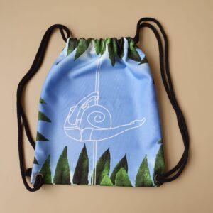 Plecakoworek z motywem snail